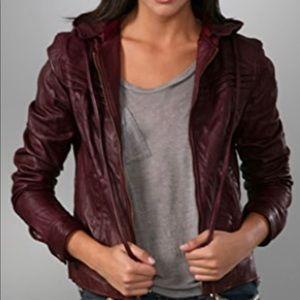 NWOT Mike & Chris Leather Jacket Size Medium